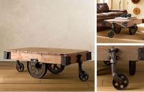 Vintage Factory Carts