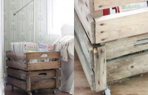 DIY Crate Magazine Holder