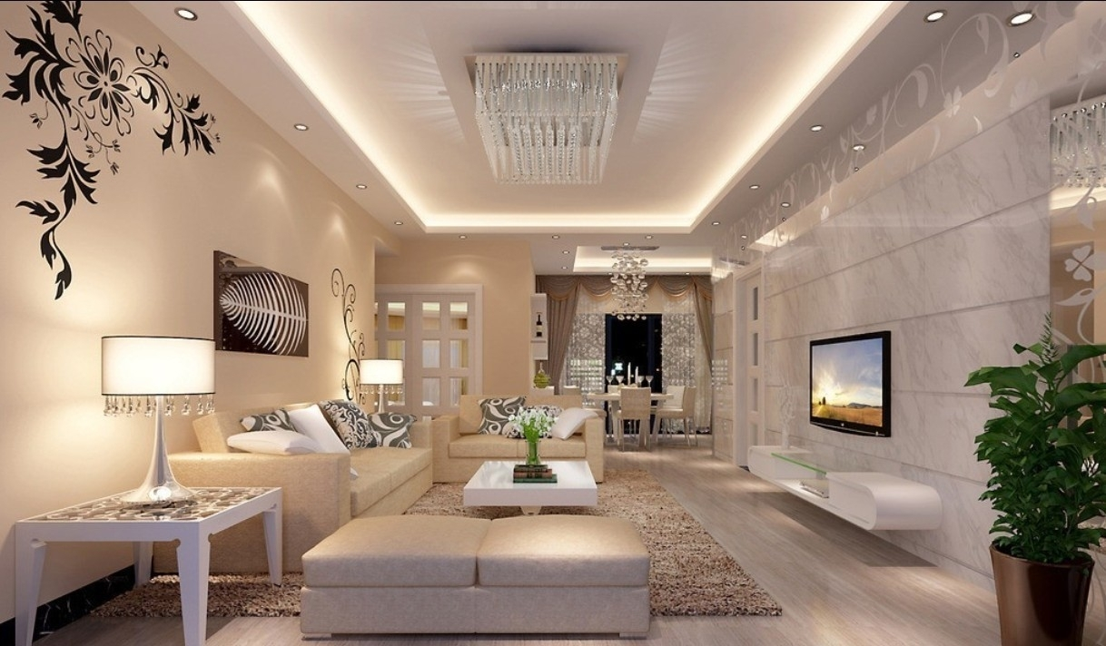 photo source stonetreedfw - Most Luxurious Living Rooms