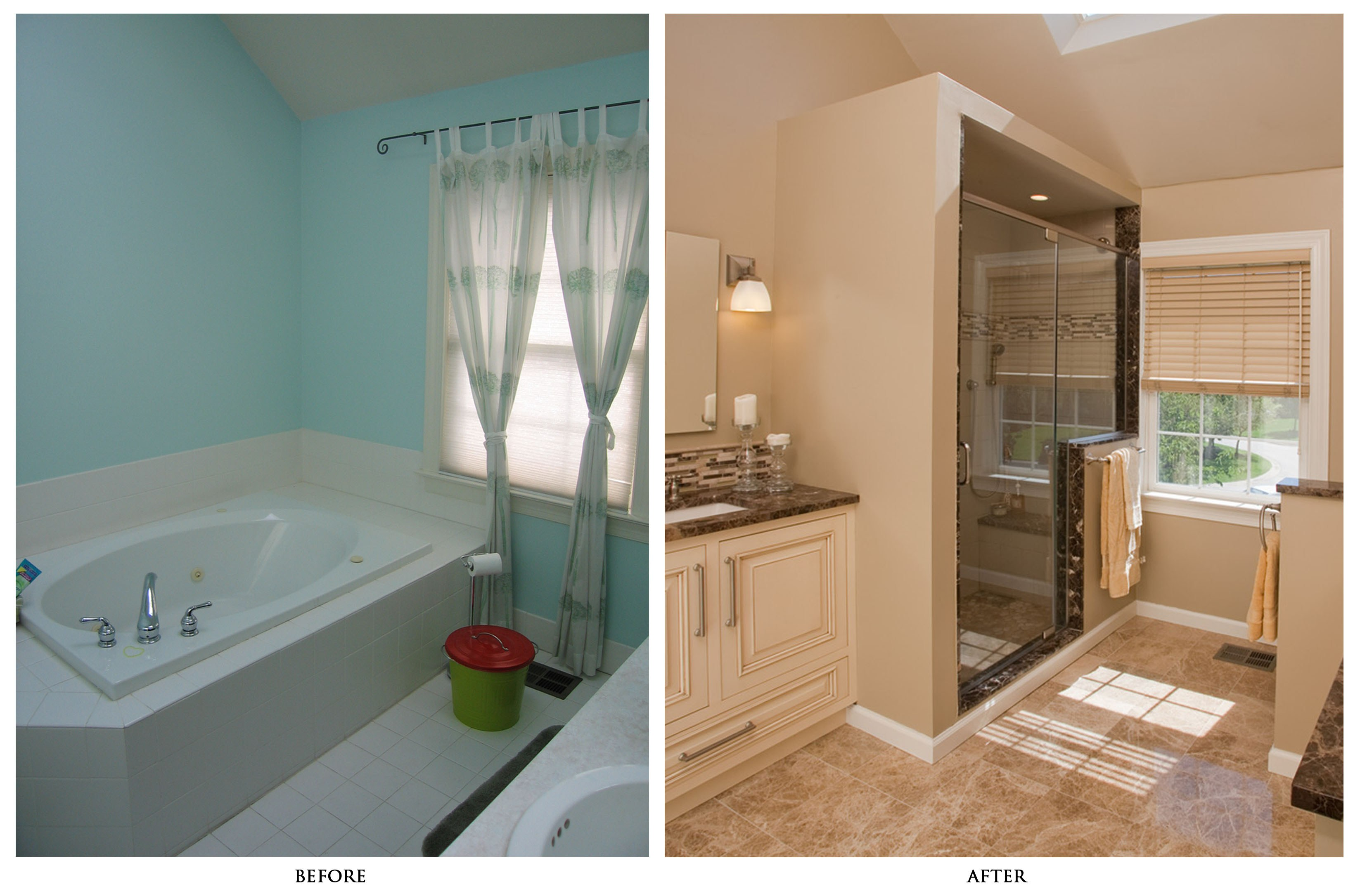 10 bathroom remodeling ideas lovely spaces tub to shower bathroom remodeling ideas lovelyspaces com
