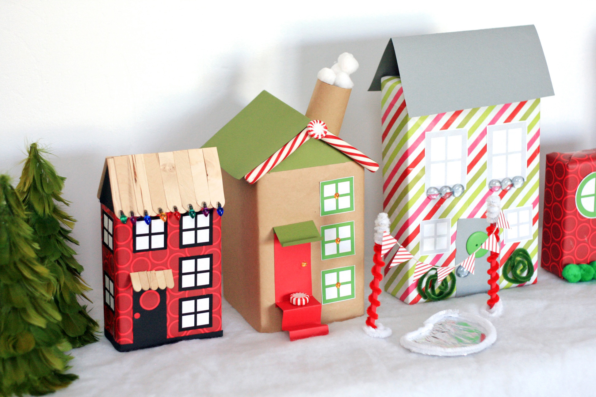 cereal box decors in Christmas DIY decorations for kids bedrooms | lovelyspaces.com