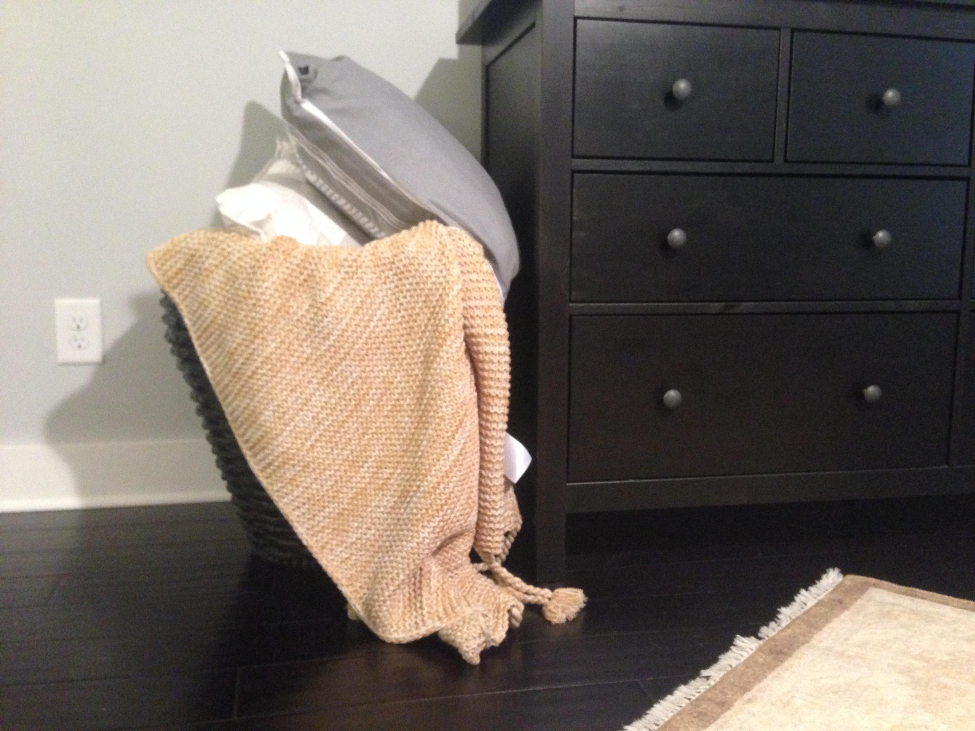 Bedroom Storage - Blankets