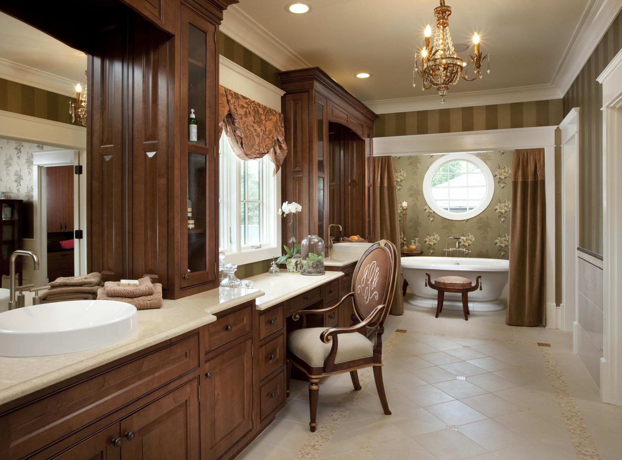 luxurious vanity his & hers bathroom sink   lovelyspaces.com