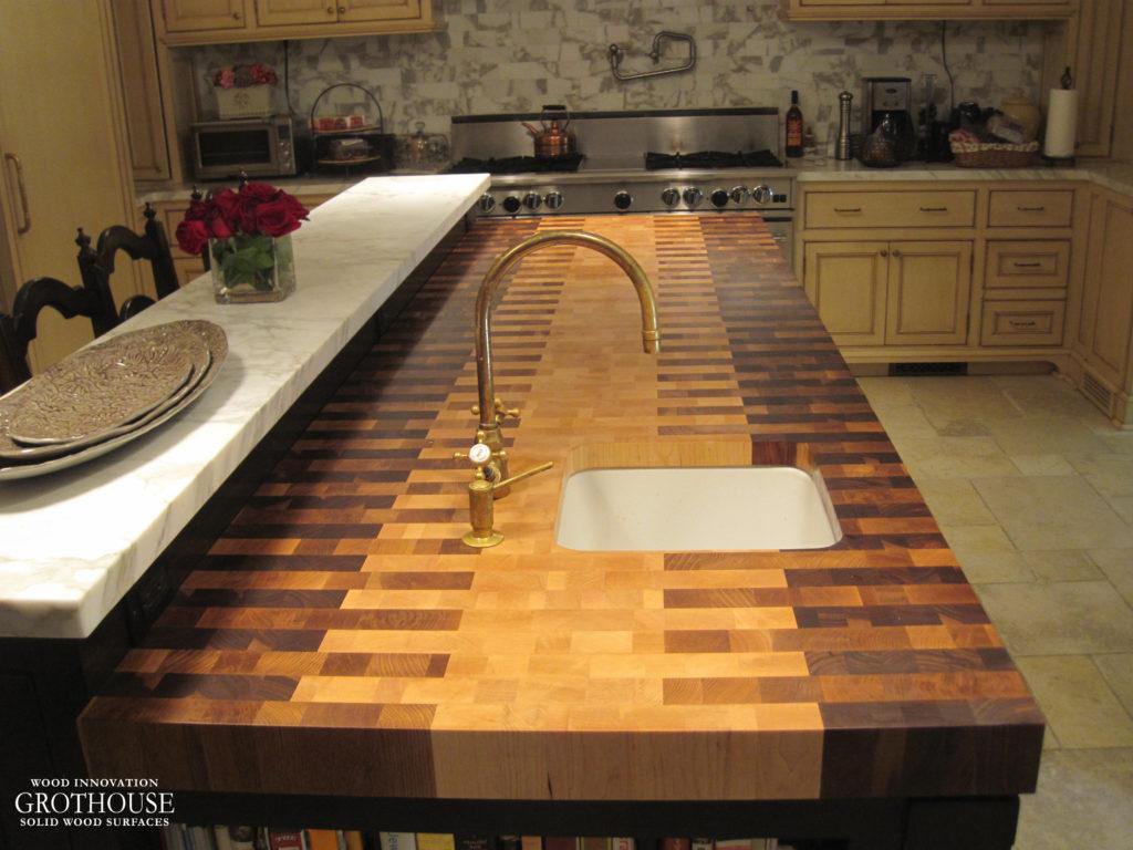Photo Source: wood-countertop