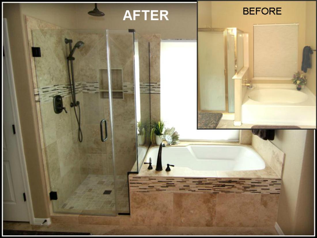 glass shower bathroom remodeling ideas | lovelyspaces.com