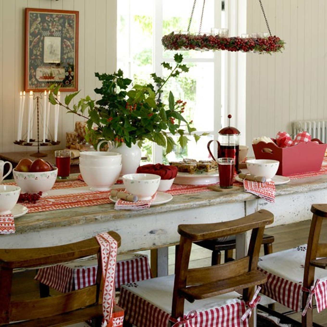 Christmas breakfast in Kitchen Christmas Decoration Ideas | LovelySpaces.com